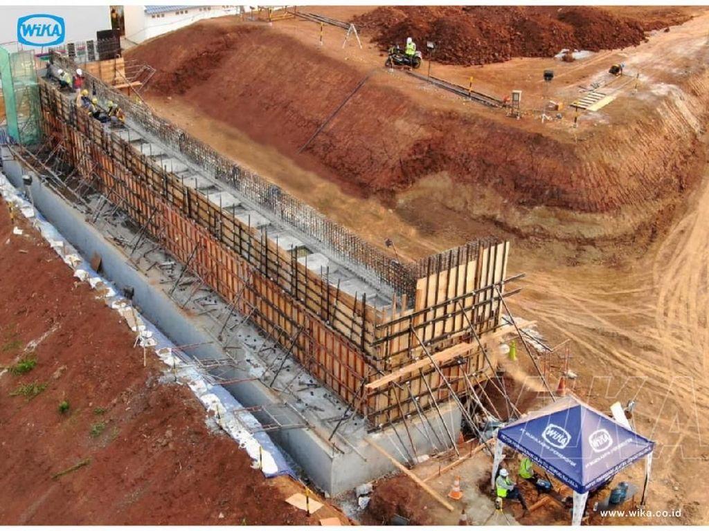 Dilihat dari Udara, Ini Penampakan Proyek Tol Serpong-Balaraja