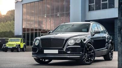 Bentley Bentayga Lebih Keren Dimodif Seperti Ini