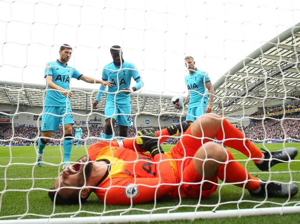 Cedera Lloris Bikin Tottenham Terguncang dan Kalah