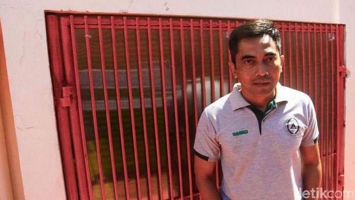 Masa depan Seto Nurdiantoro di PSS Sleman belum jelas, (Foto: Rifkianto Nugroho/detikSport)