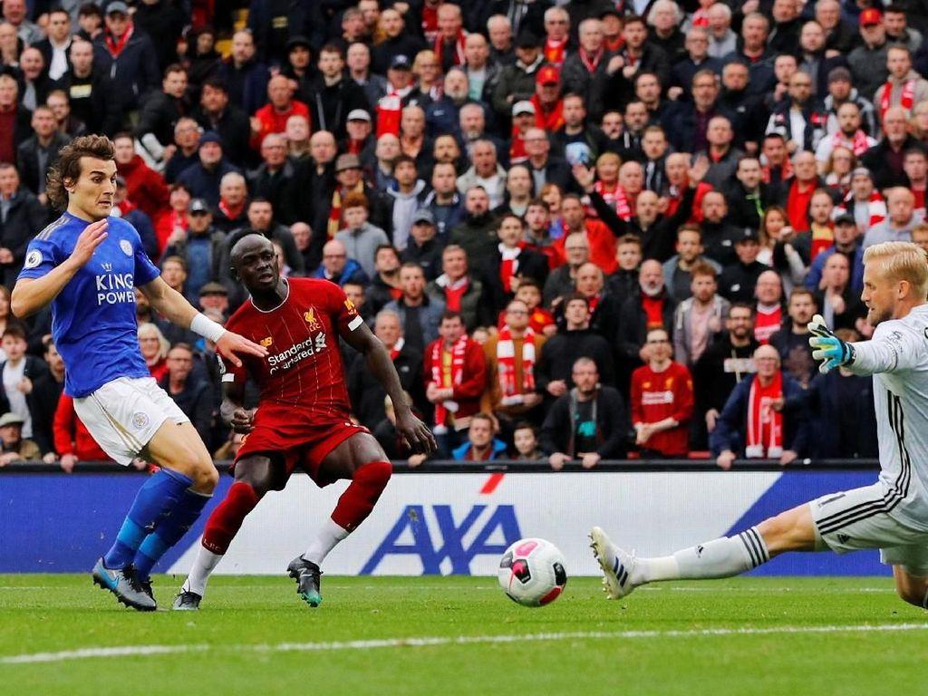 Babak I Liverpool Vs Leicester: Mane Bawa The Reds Memimpin 1-0