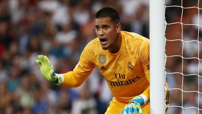 Saatnya Alphonse Areola gantikan Thibaut Courtois sebagai kiper nomor satu Real Madrid? (Foto: Sergio Perez / Reuters)