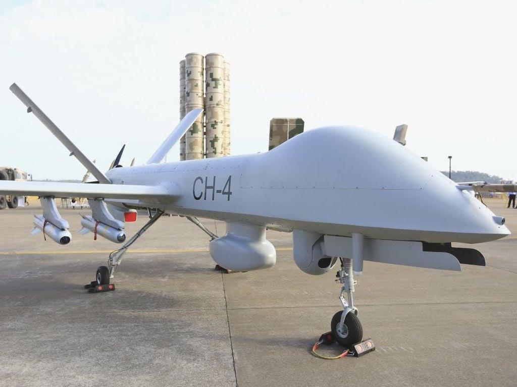Bedah Teknologi Drone CH-4 yang Unjuk Gigi di HUT TNI