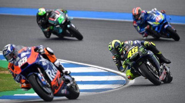 Rossi Dianggap Sudah Tak Bisa Melawan Pebalap Muda