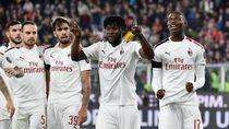 Video 4 Kartu Merah di Laga Genoa Vs Milan