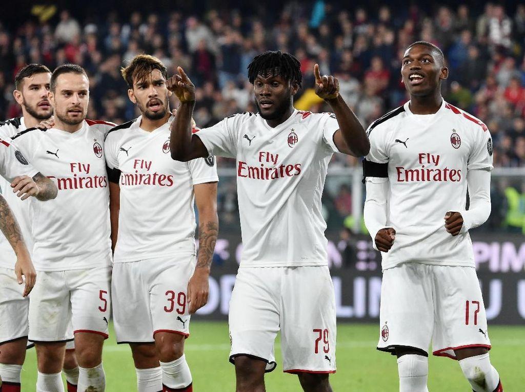 Bersama Pioli, Milan Bakal Lolos ke Liga Champions