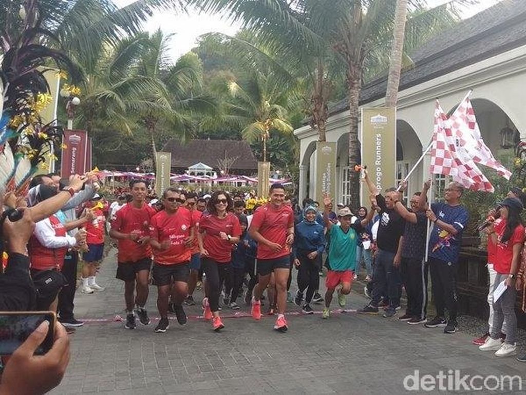 Borobudur Marathon 2019 Adakan Promo Piknik Gratis untuk Peserta Mancanegara