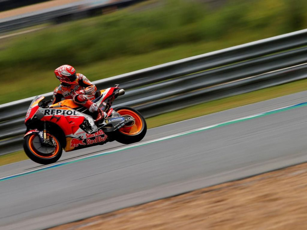 Marquez Menangi MotoGP Thailand, Kunci Gelar Juara Dunia