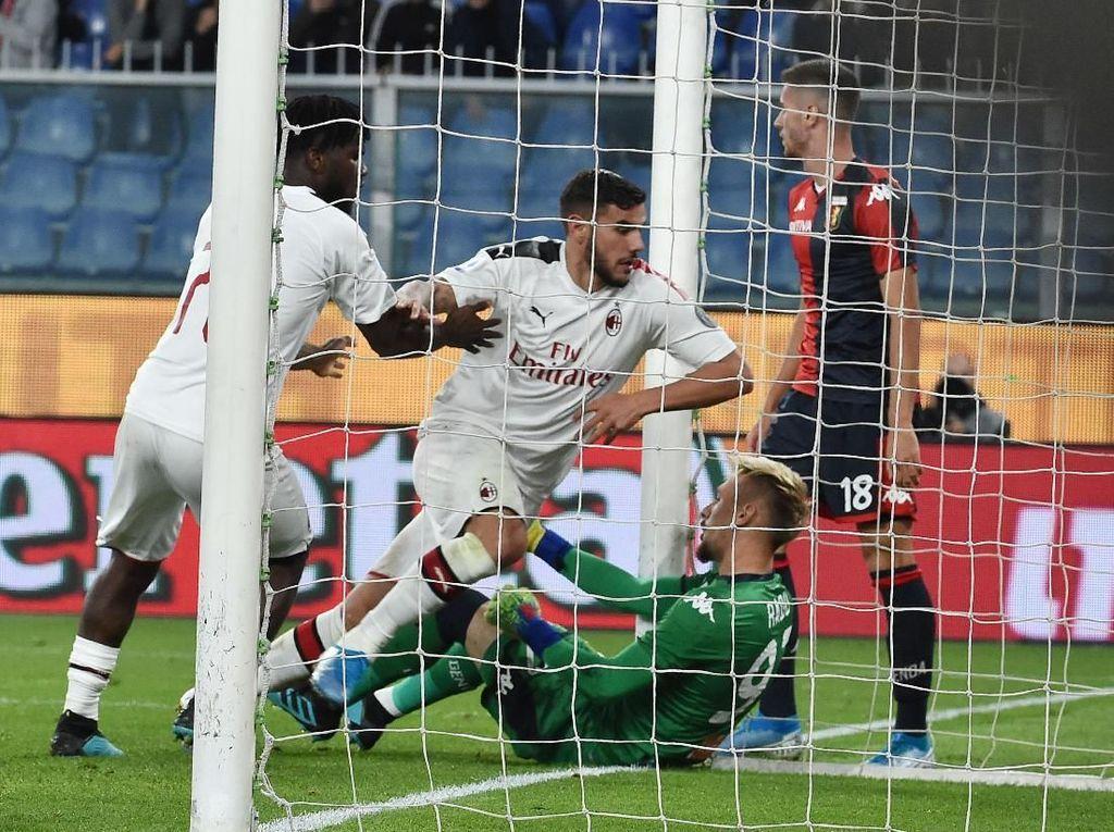Genoa Vs Milan: Empat Kartu Merah Warnai Kemenangan Rossoneri