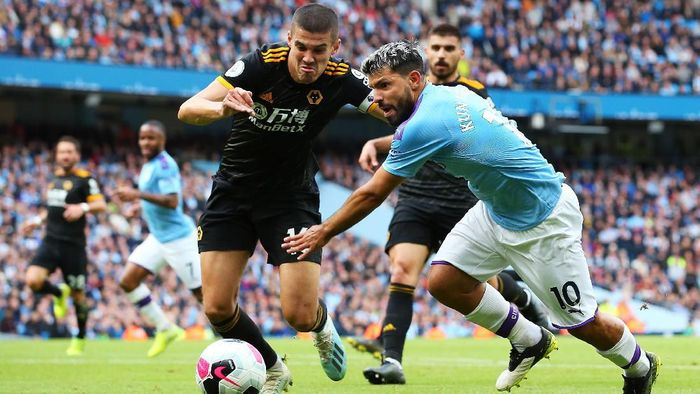 Wolverhampton akan menghadapi Manchester City dini hari nanti (Alex Livesey/Getty Images)