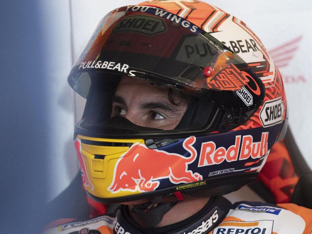 Marquez Mengejar Juara Dunia MotoGP 2019 dengan Rasa Sakit