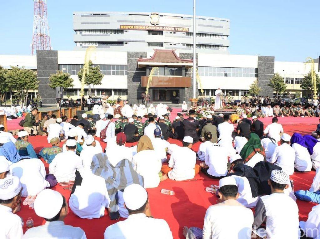 Polda Jatim Gelar Doa Bersama untuk Indonesia Damai