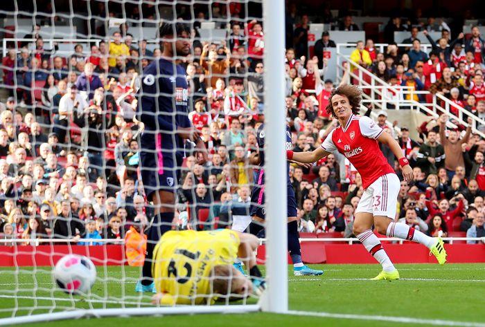 Arsenal mengalahkan Bournemouth 1-0 untuk naik ke tiga besar. (Foto: Catherine Ivill / Getty Images)