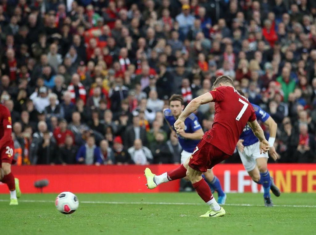 Kalahkan Leicester, Liverpool Menang Dramatis Lewat Penalti