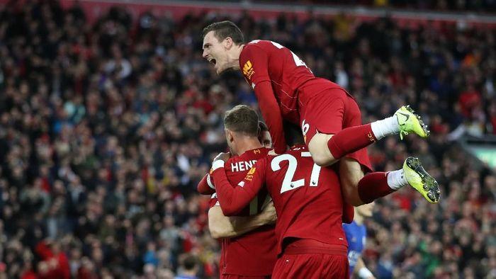 Liverpool memimpin delapan poin atas Manchester City setelah delapan pekan pertama. (Foto: Carl Recine/Reuters)