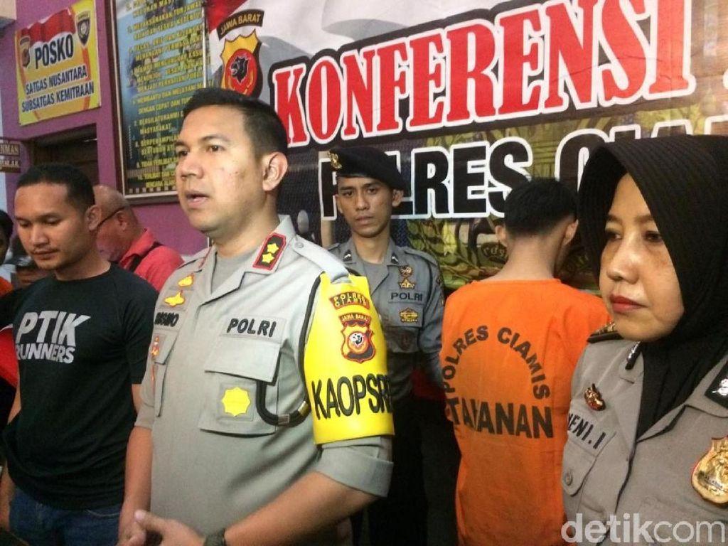 Maling yang Bunuh Pengusaha Keripik di Ciamis Ditangkap