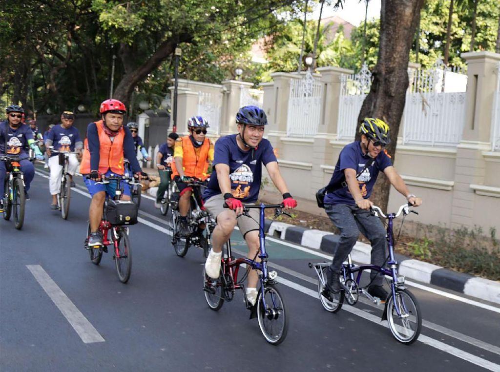 Ratusan Peserta Meriahkan Sepeday PT KAI