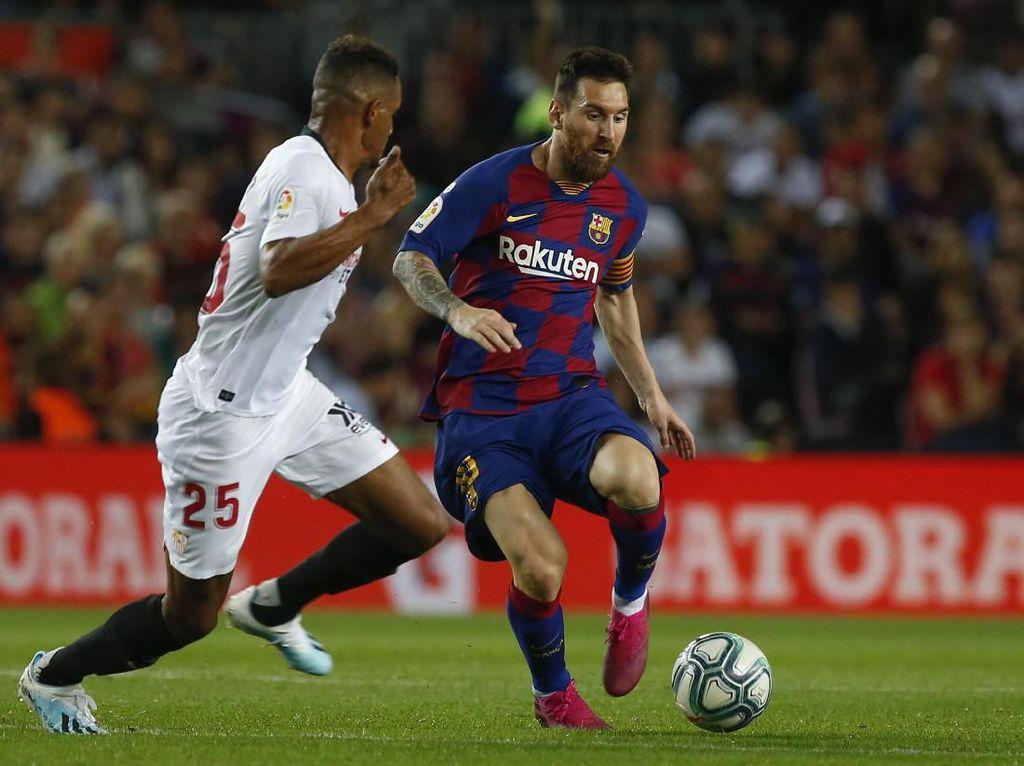 Diwarnai Dua Kartu Merah, Barcelona Gulung Sevilla 4-0