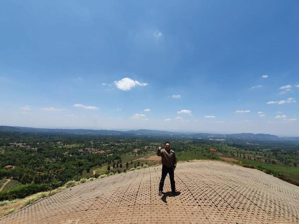 Bukit Santiong, Destinasi Wisata Baru Pemicu Adrenalin