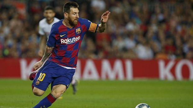 Lionel Messi tiga kali kalah saat menghadapi Alisson.