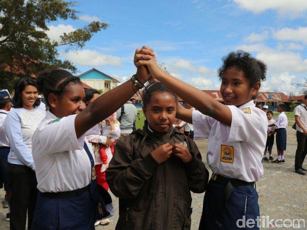 Hari Pertama Sekolah di Wamena Pasca-rusuh, Siswa Pulang Lebih Cepat