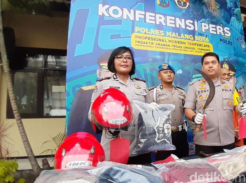Dua Pelaku Curanmor di Kota Malang Ditembak Mati