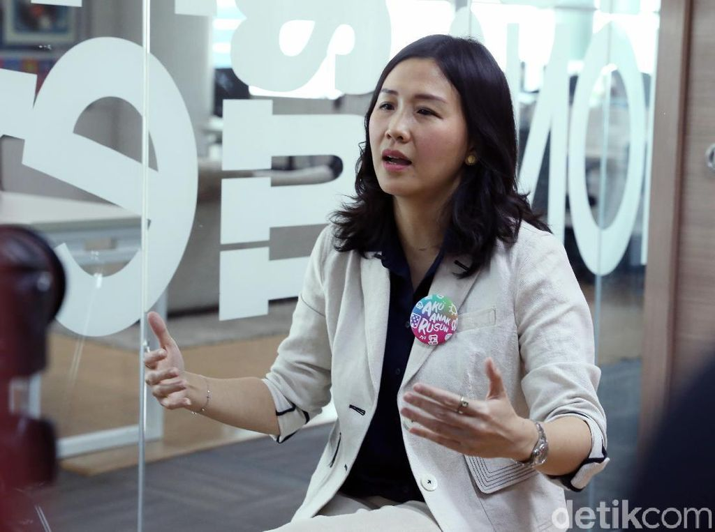Veronica Tan Kaget dengan Semangat dan Talenta Anak-anak Rusun