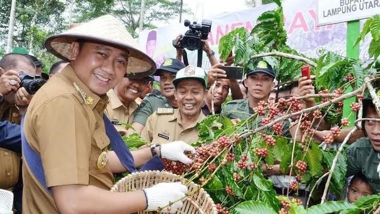 Profil Bupati Lampung Utara yang Kena OTT KPK: Kader Muda dari Nasdem