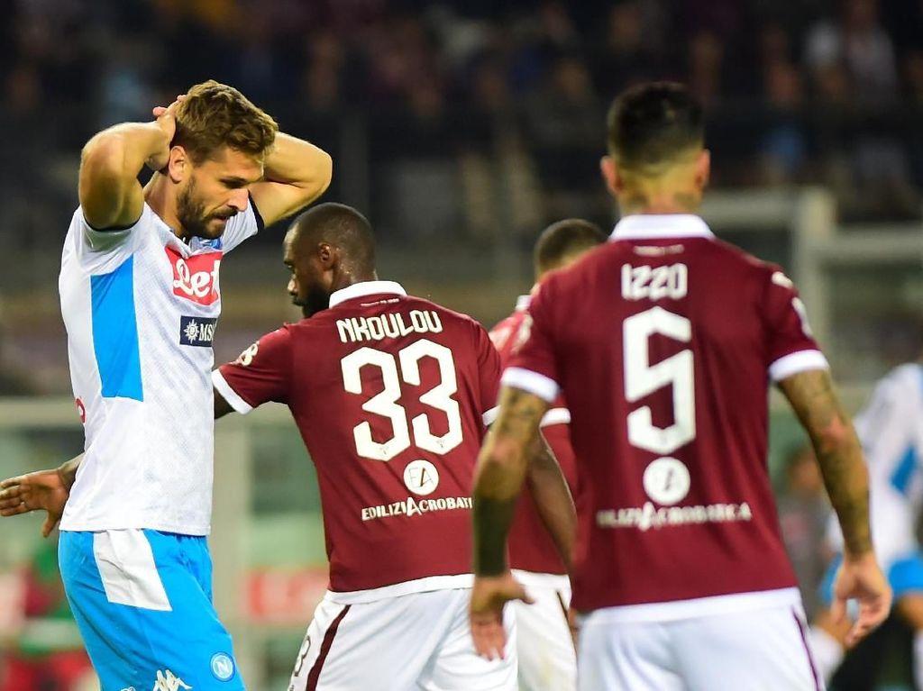 Torino Vs Napoli Berakhir Seri Tanpa Gol