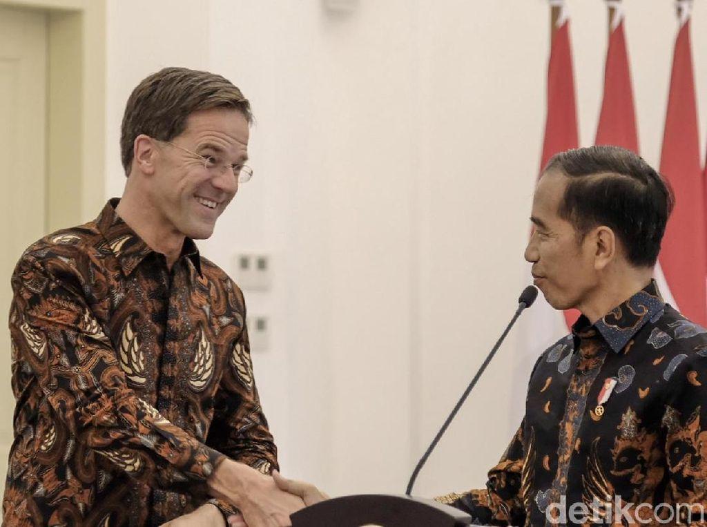 Jokowi Ajak Belanda Tingkatkan Kerja Sama Pendidikan Vokasi Kemaritiman
