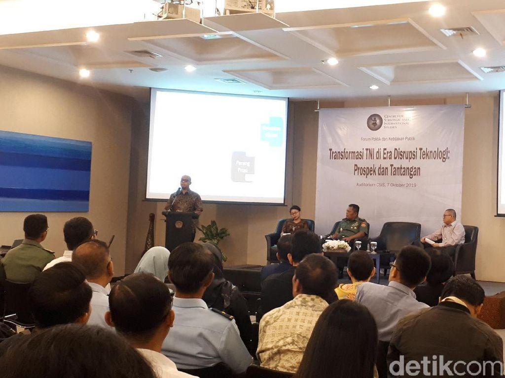 TNI Prediksi Narkoba-Terorisme Masih Jadi Ancaman Nyata Indonesia
