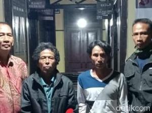 2 Pemburu Landak Jadi Tersangka Pembakar Hutan Lereng Gunung Slamet