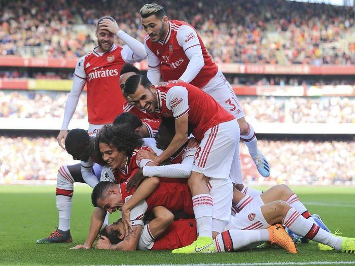 Arsenal kini sudah menempati posisi ketiga klasemen Premier League (AP Photo/Leila Coker)