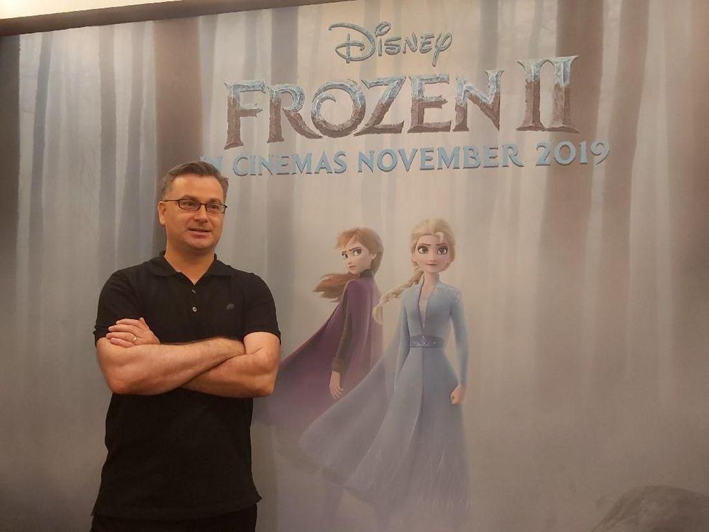 Norman Lamey Bocorkan Cerita Petualangan Anna dan Elsa di Frozen 2