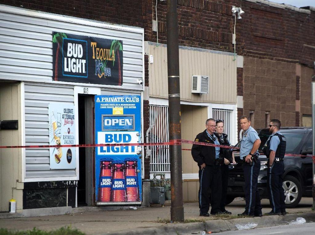 4 Orang Tewas dalam Penembakan di Bar AS, 2 Tersangka Diburu
