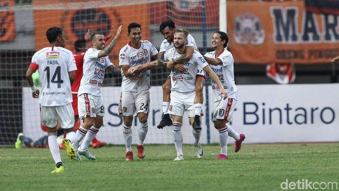 Bali United melebarkan jarak di klasemen Liga 1 2019. (Foto: Rifkianto Nugroho/detikcom)