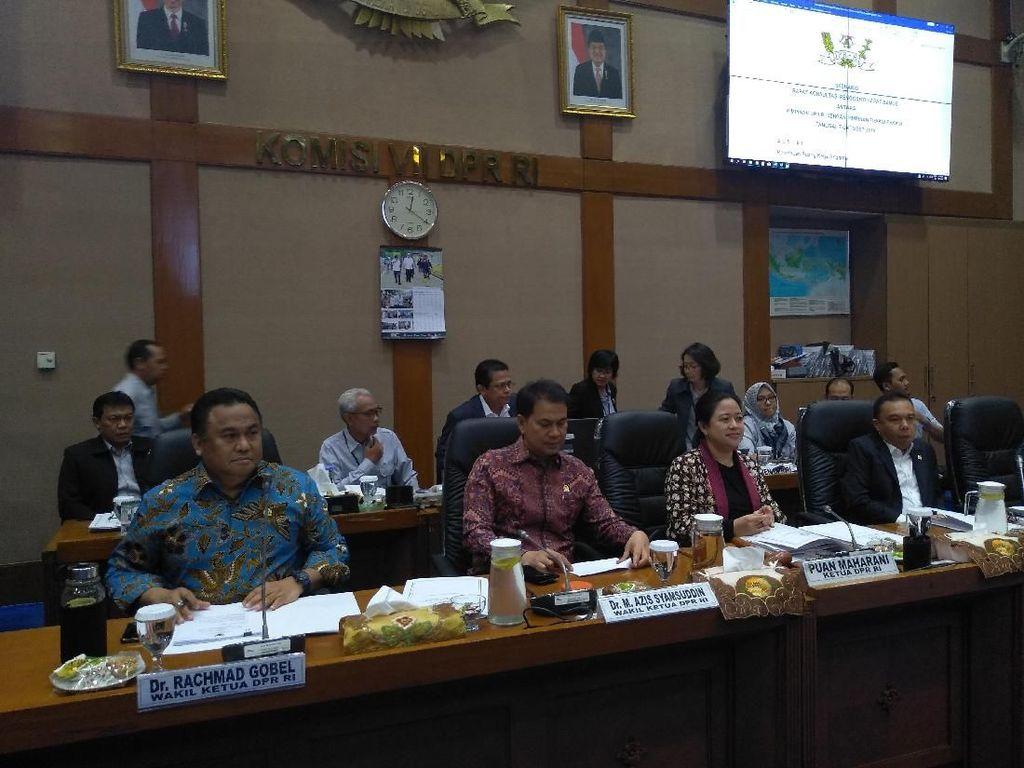 Puan Pimpin Rapat Konsultasi Bahas soal Formasi DPR