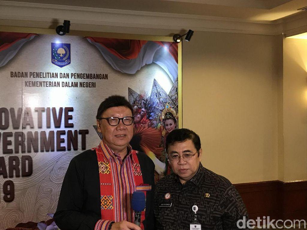 Pamitan, Tjahjo Minta Kepala Daerah Dukung Pemerintahan Jokowi-Maruf