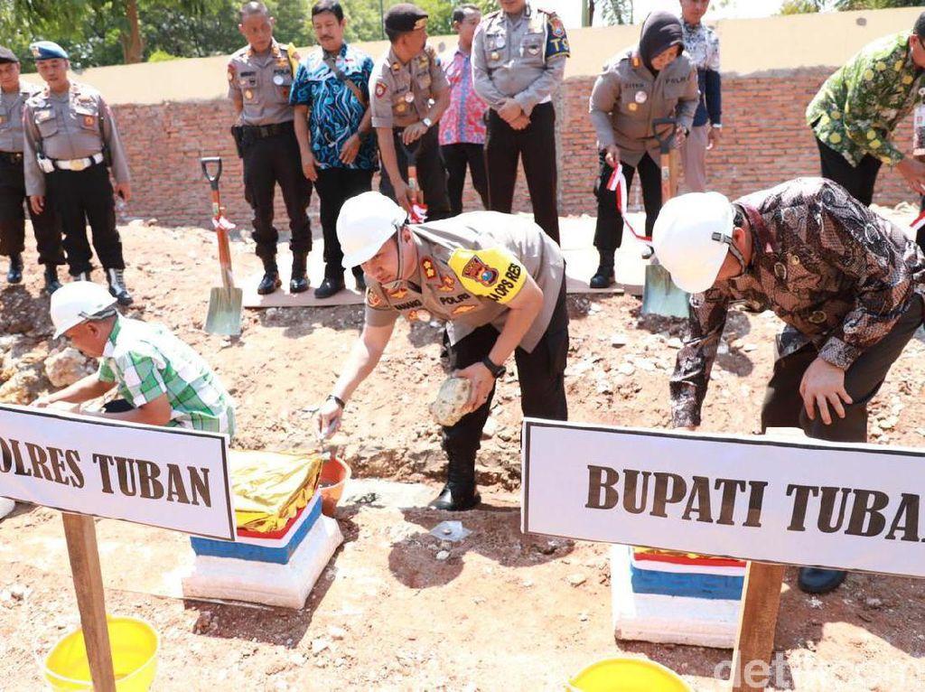 Polres Tuban Bangun Gedung Pelayanan Publik Senilai Rp 2 Miliar