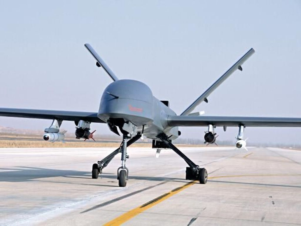 Kecanggihan Drone CH-4 Milik TNI