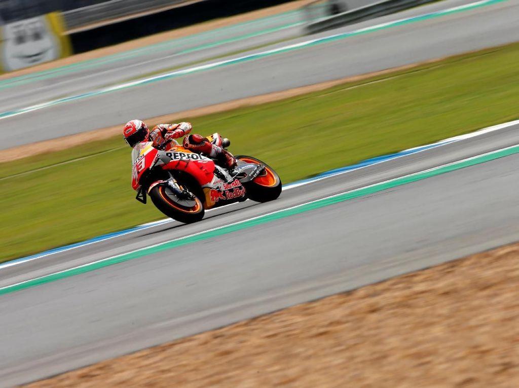 Marquez Tak Tertarik Lewati Rekor Rossi dan Agostini