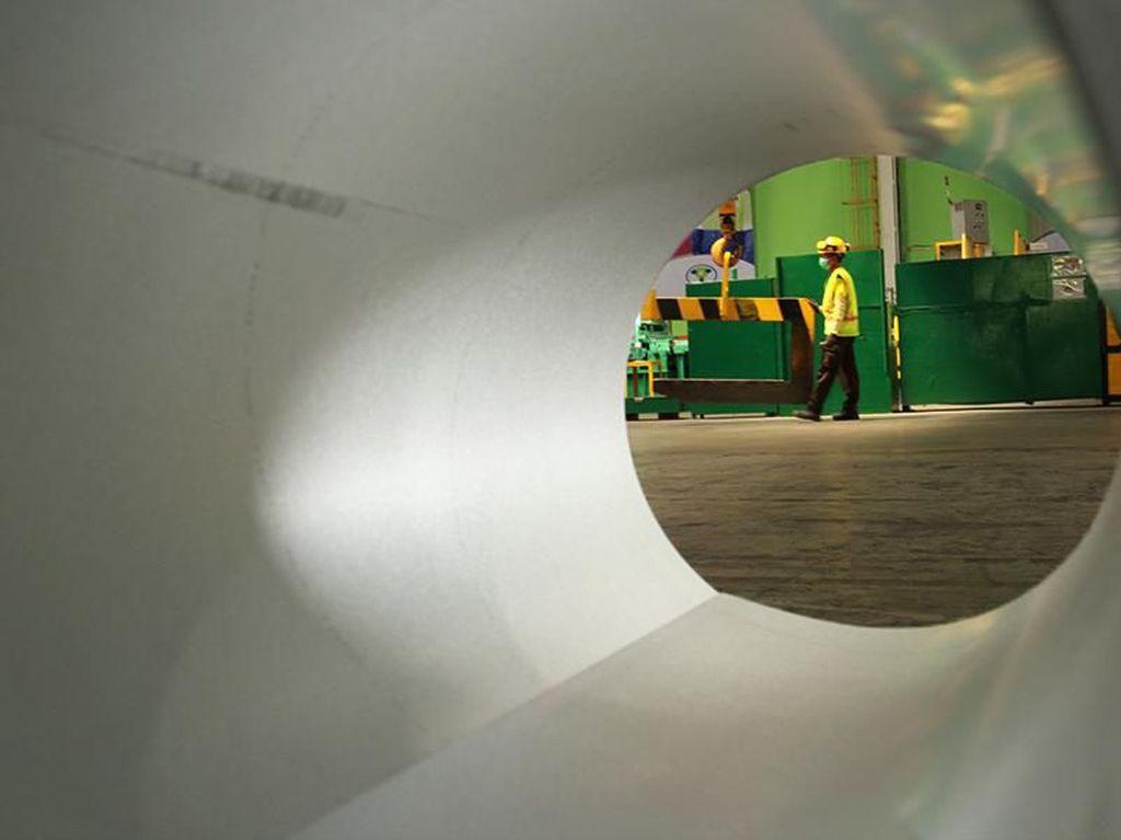 Mengintip Pabrik Baja Berbasis Industri 4.0
