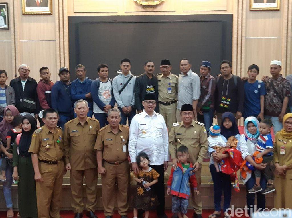 Gubernur Banten Temui Warga yang Eksodus dari Papua karena Rusuh