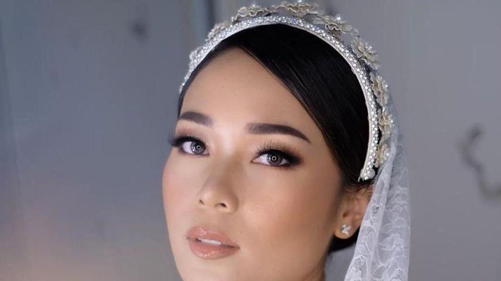 Influencer Ayla Dimitri Menikah, Intip Penampilan Cantiknya Jadi Pengantin