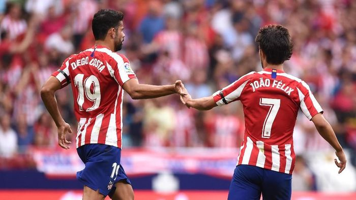 Atletico Madrid seret gol. (Foto: Denis Doyle/Getty Images)
