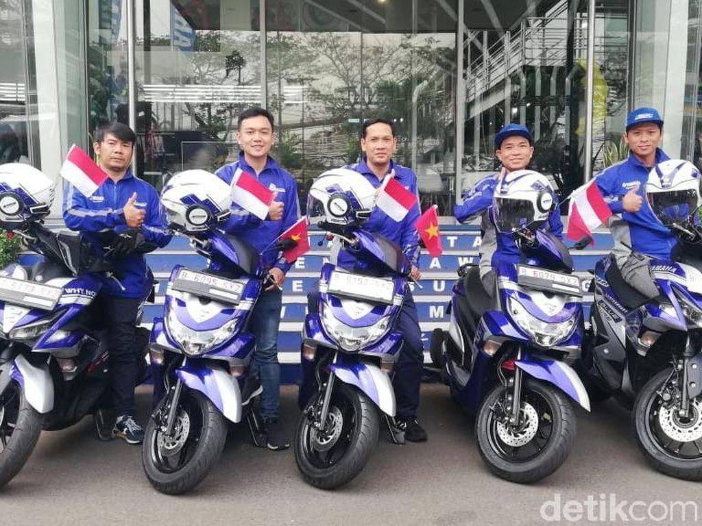 Curhatan Rider Vietnam Soal Lalu Lintas di Indonesia