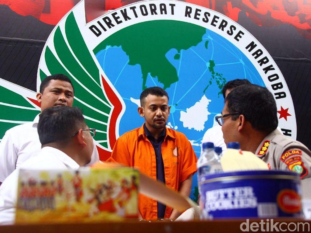 Orang Suruhan Umar Kei Selundupkan Sabu Pakai Biskuit ke Rutan Polda