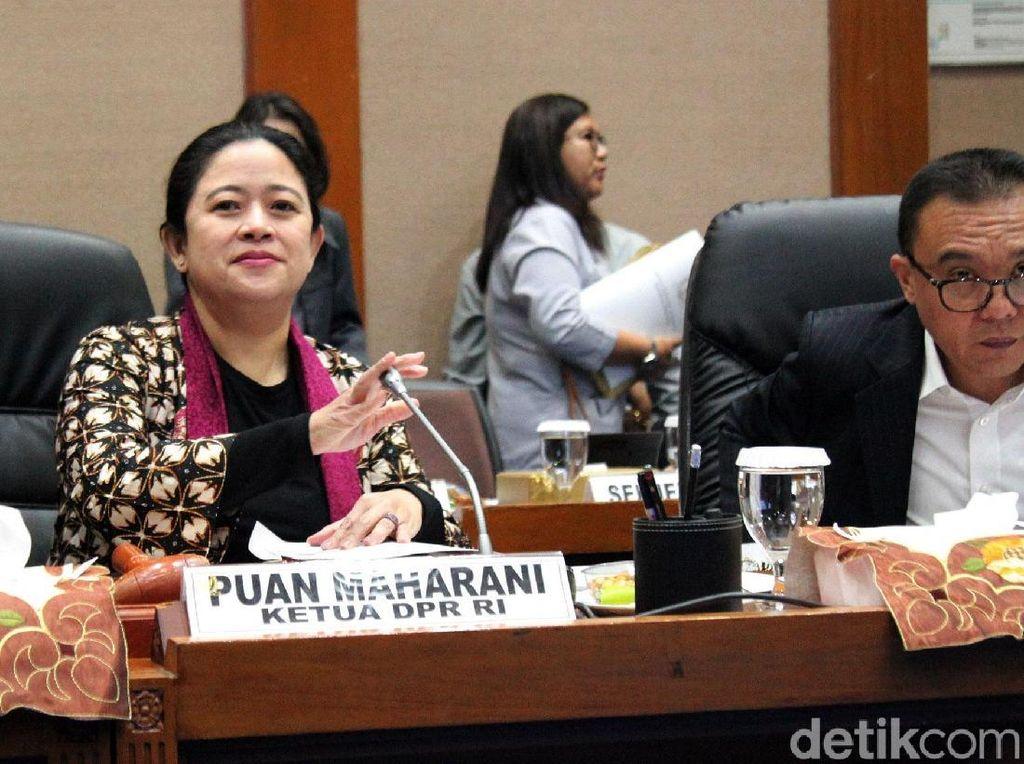 Momen Puan Maharani Pimpin Rapat Konsultasi Bahas Formasi DPR