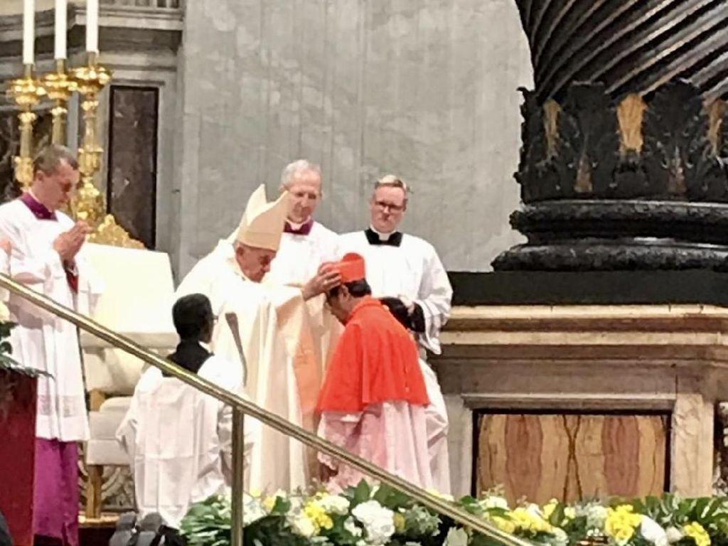 Uskup Agung Jakarta Resmi Dilantik sebagai Kardinal