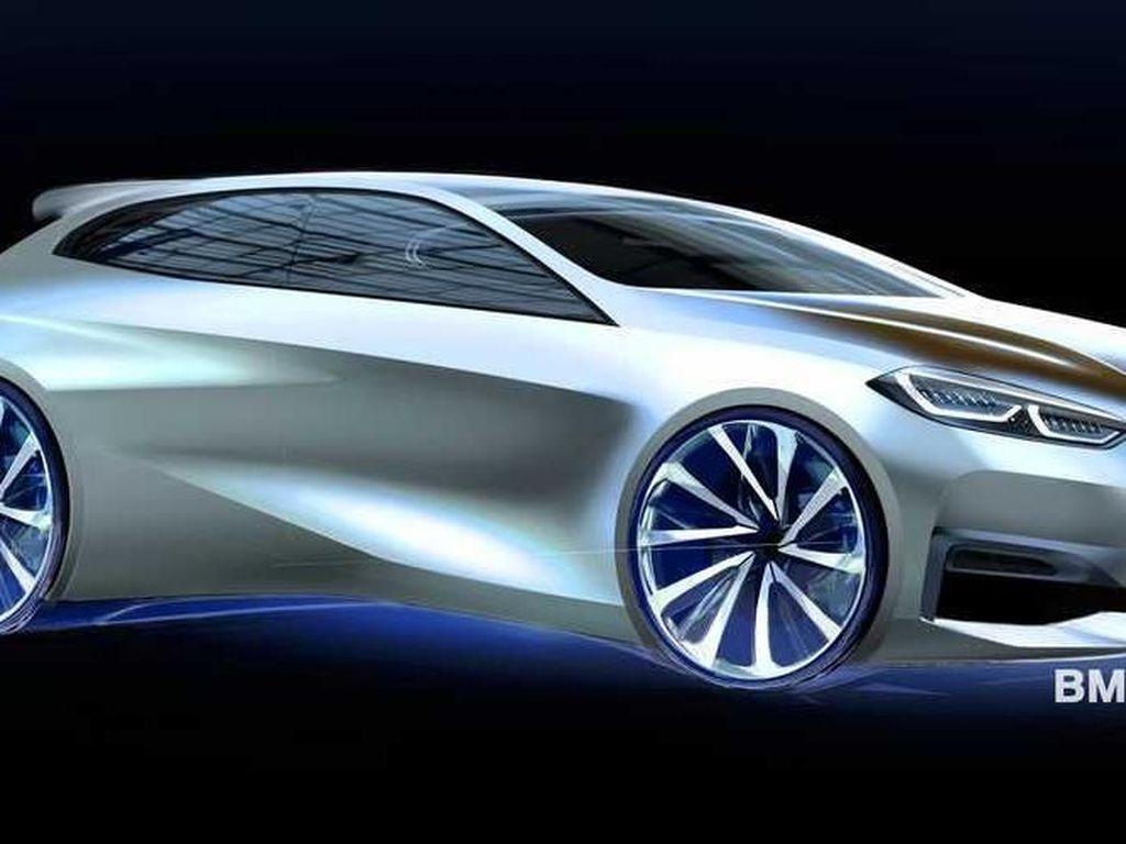 BMW Siapkan Seri 1 Bertenaga Listrik
